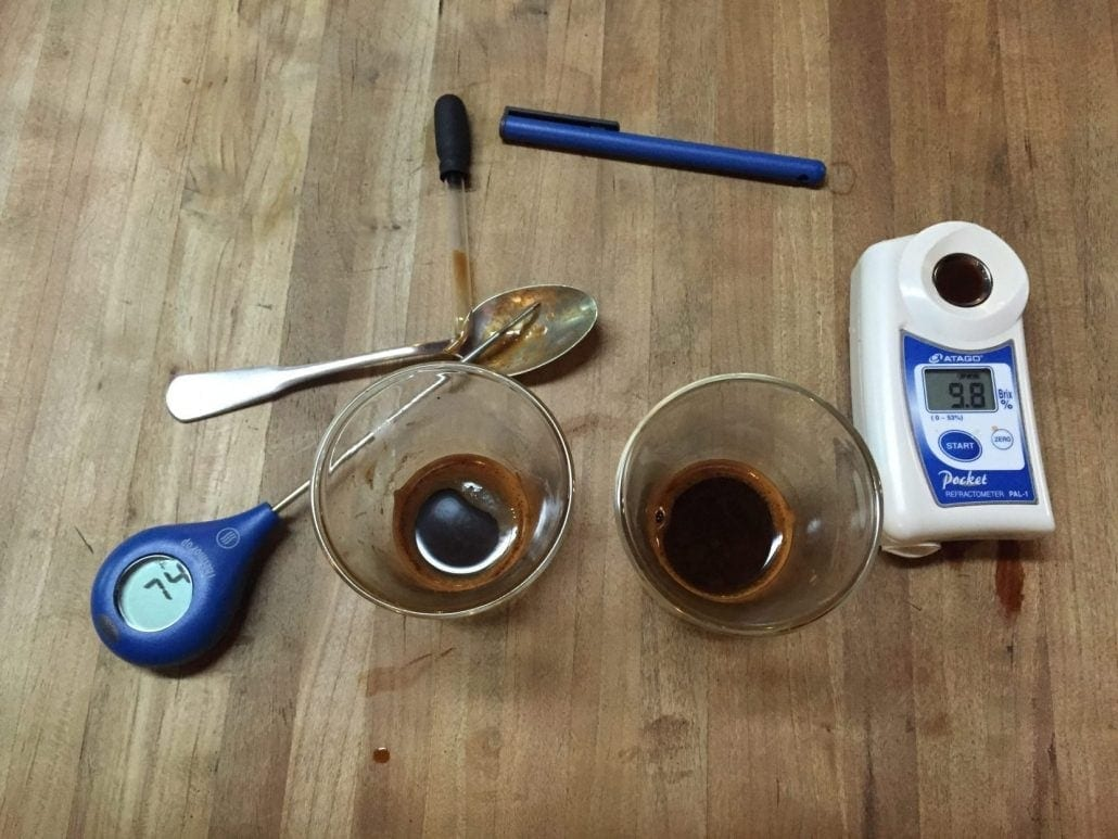 coffee experiments