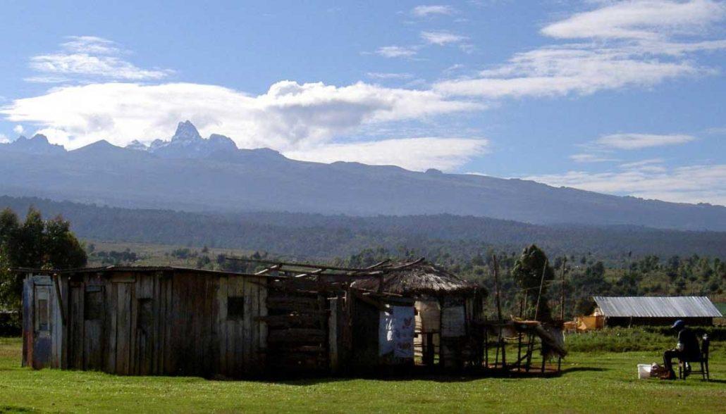 Farm near Mt. Kenya