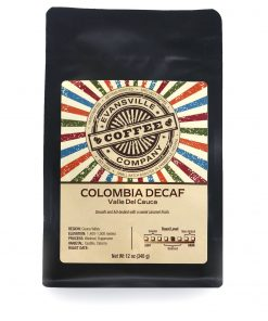 colombia coffee decaffeinated valle de cauca