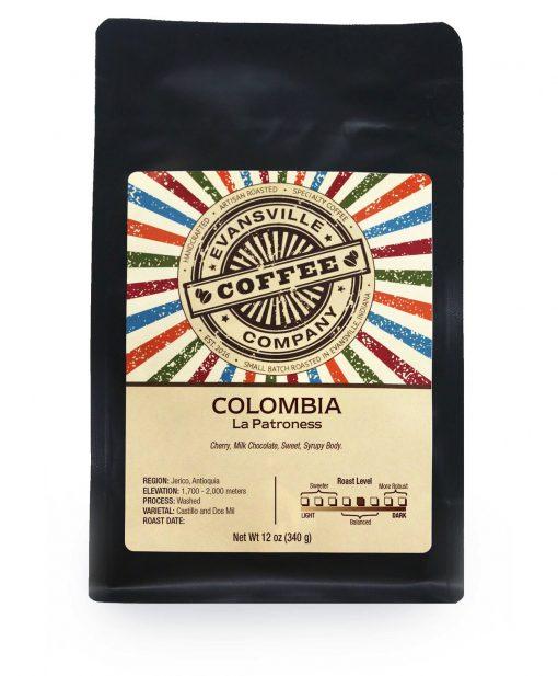 colombia coffee la patroness