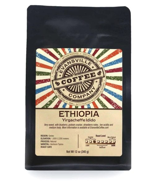 ethiopia coffee yirgachefe idido