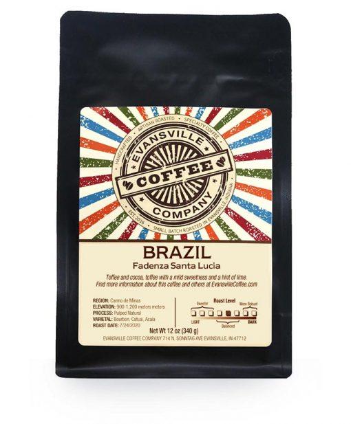 Evansville Coffee Fadenza Santa Lucia Brazil
