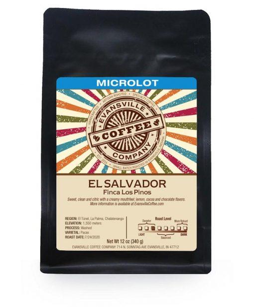 Evansville Coffee Finca Los Pinos El Salvador